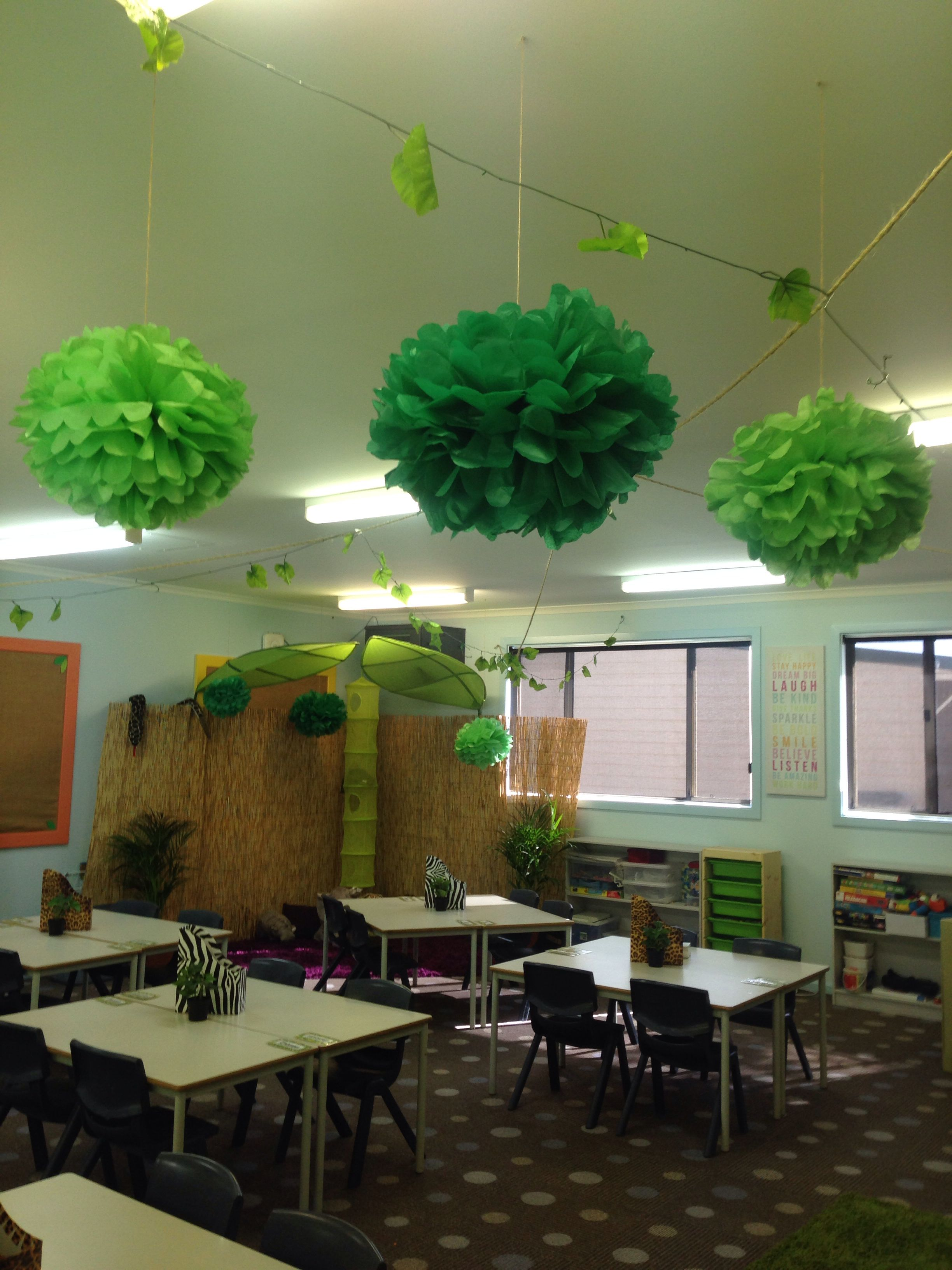 My Year 2 3 Jungle Safari themed classroom