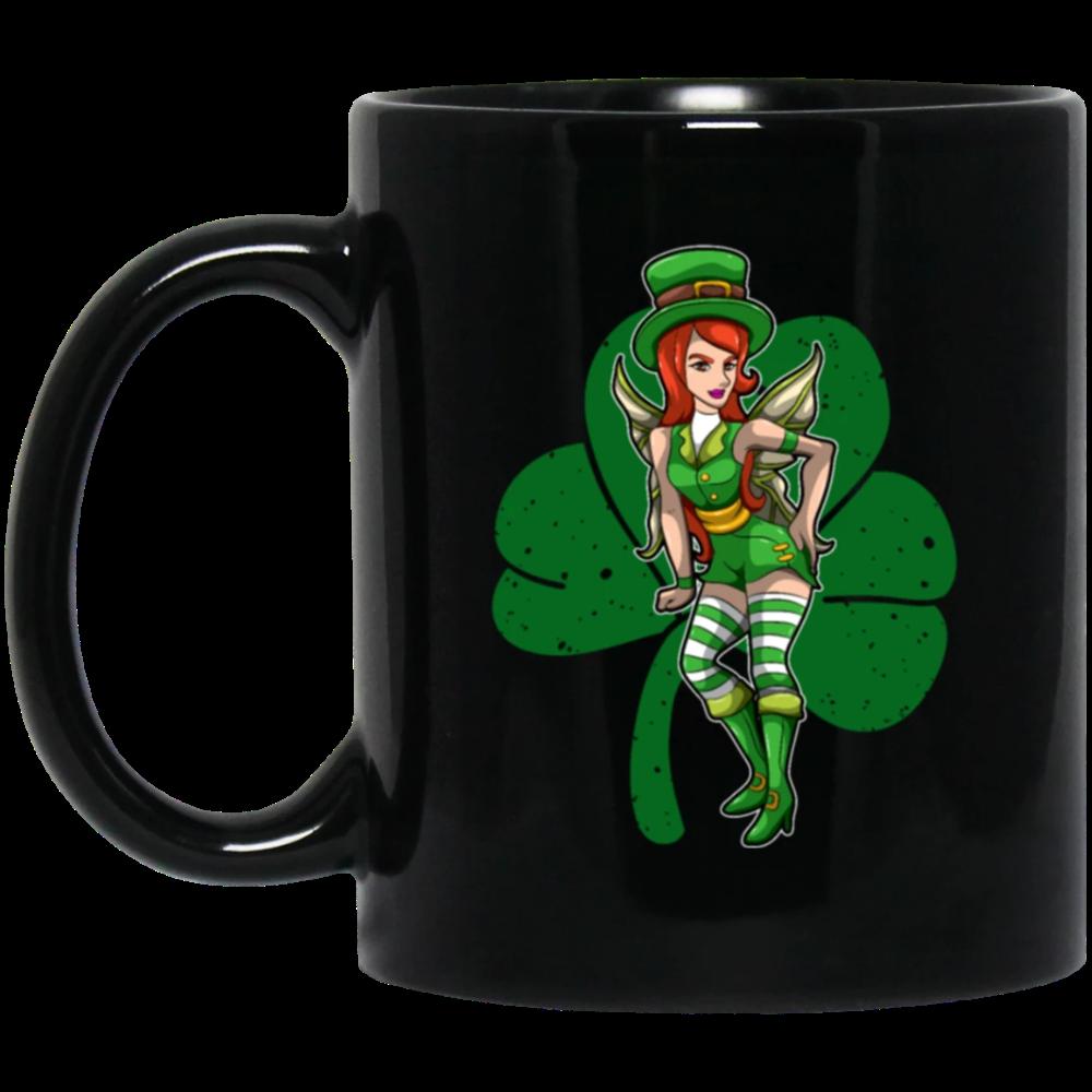 Green Fairy With Cloverleaf Irish Beauty in 2020 Irish