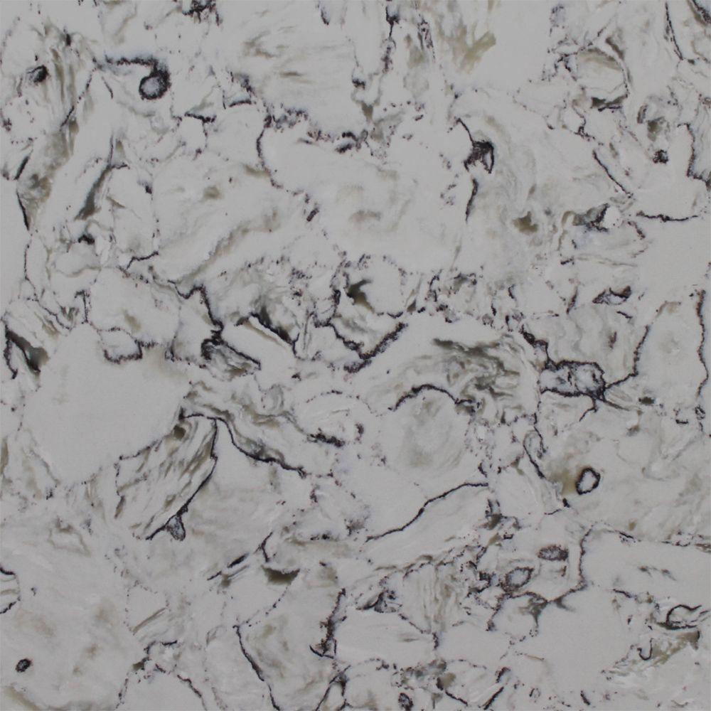 Q - Quartz Montclair White. Quartz Countertops