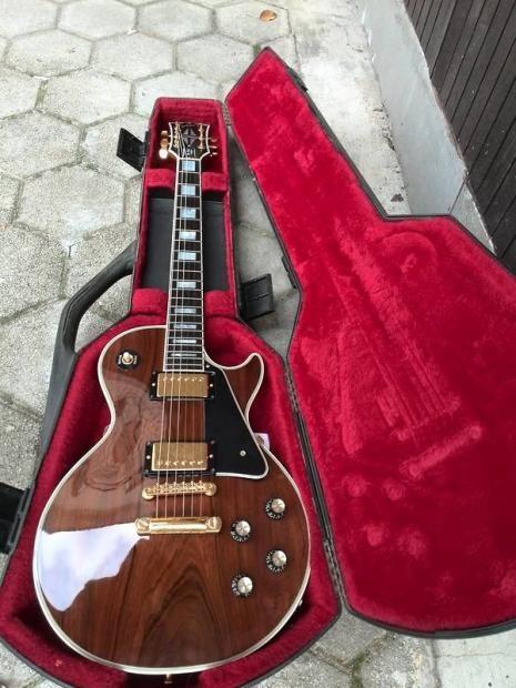 Gibson Les Paul Custom 1975/76 Brazilian Rosewood Top (1 of