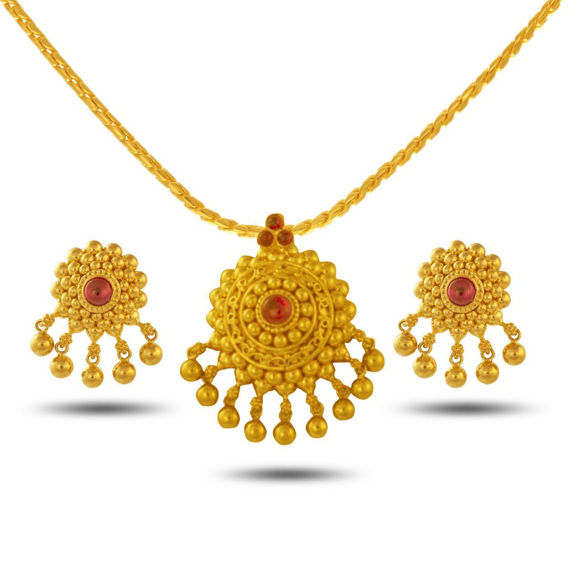 Pin by abhishek verma on jewellery pinterest pendant set gold