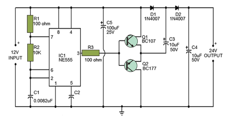 the following circuit diagram below illustrates a voltage doubler rh pinterest com