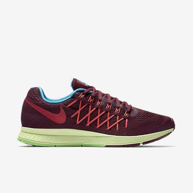 online retailer 0c542 45ee3 Nike Air Zoom Pegasus 32 N7 - Deep Garnet  Pink Foil  Light Liquid Lime   University Red