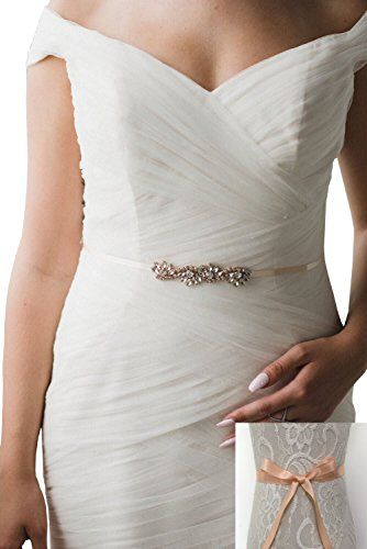 Lemandy Handmade Rhinestone Bridal Sash Belt Wedding Sati Https Www