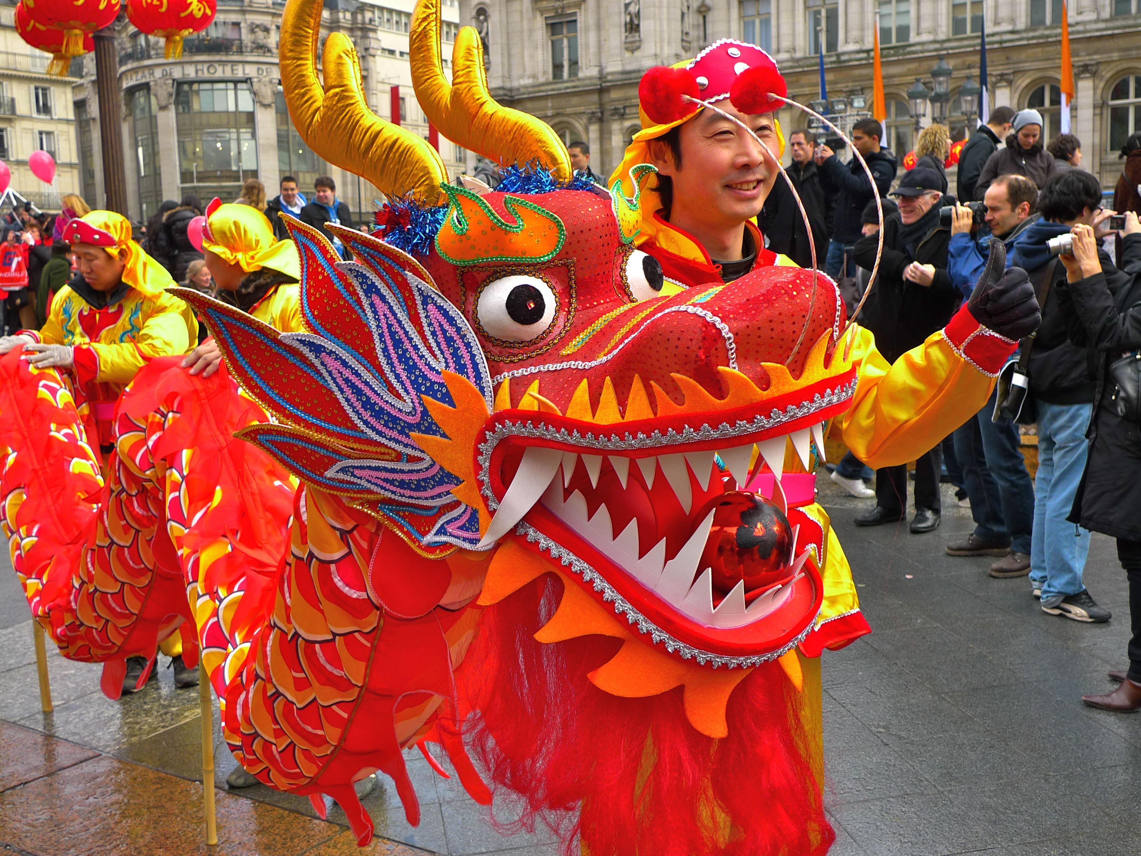 chinese dragon costume google