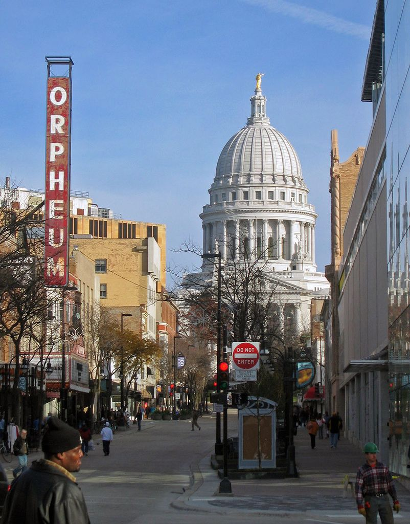State Street Wisconsin Travel Madison Wisconsin