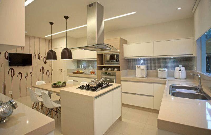 Top 10 Cozinhas Modernas Decoradas!!! Cocinas, Interiores y Casas - interiores de casas