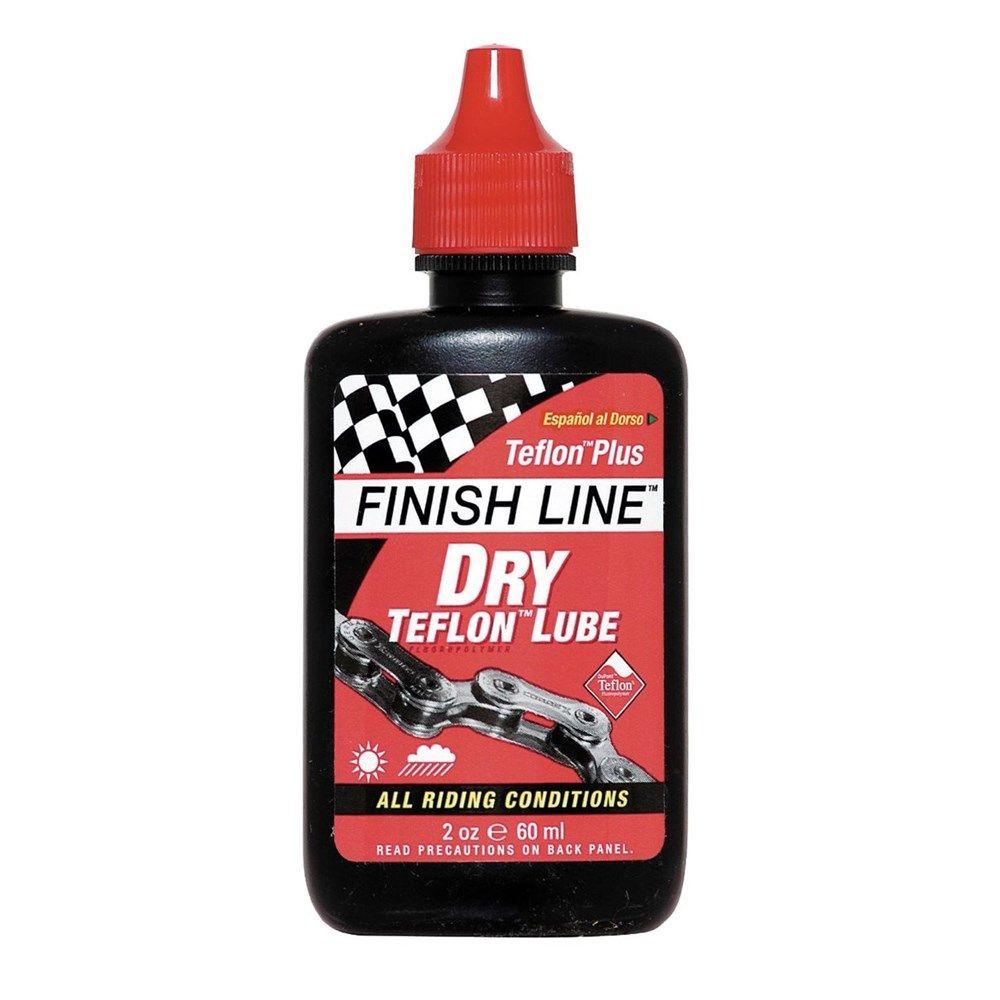 Finish Line Teflon Plus Dry Chain Lube 2oz 60ml Bottle Finish