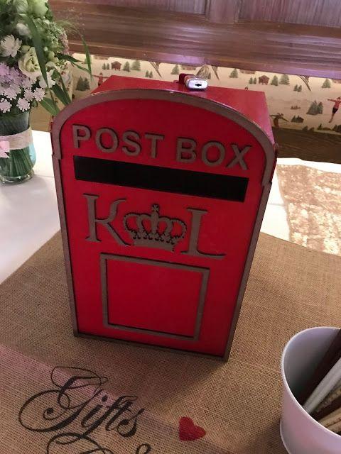Mail Box Fur Hochzeitskarten London Meets Garmisch Partenkirchen