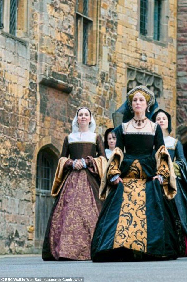 Paola Bontempi as Catherine of Aragon in 'Six Wives with Lucy Worsley' (2016)