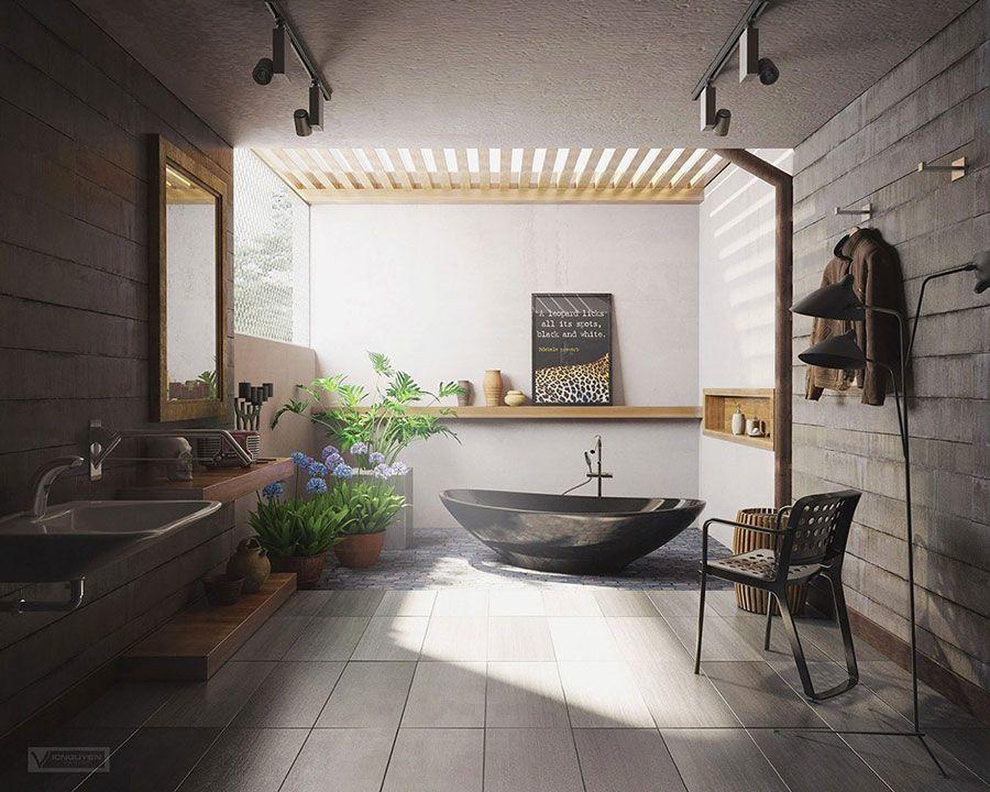Bagni Da Sogno Piccoli : 25 idee per arredare un bagno moderno con elementi di design