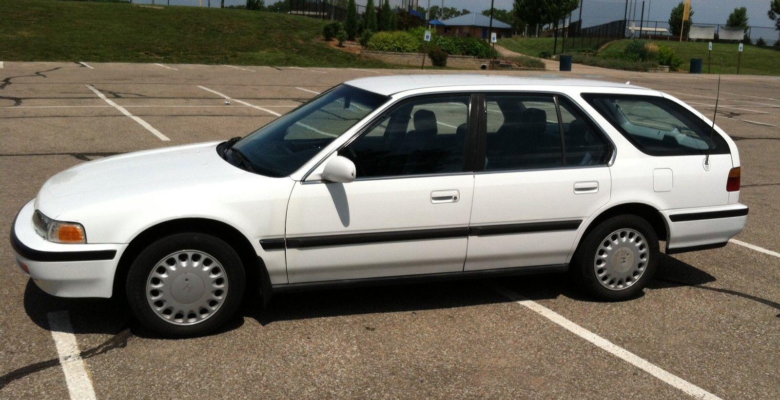 Car brand auctioned:Honda Accord WAGON LX Accord Wagon 1992 No Rust  Survivor Vintage Classic - Auction Cars | Honda accord wagon, Honda, Car