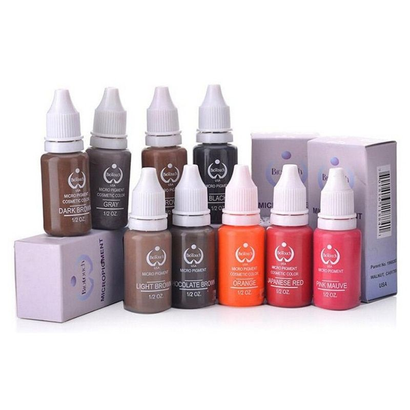 Biotouch eyebroweyeliner lip permanent makeup tattoo ink