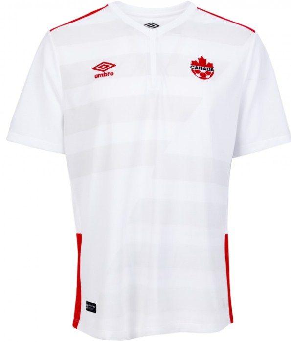 New Canada Away Soccer Jersey 2015- 2016 Umbro Canada WWC Alternate ... f49a6874f
