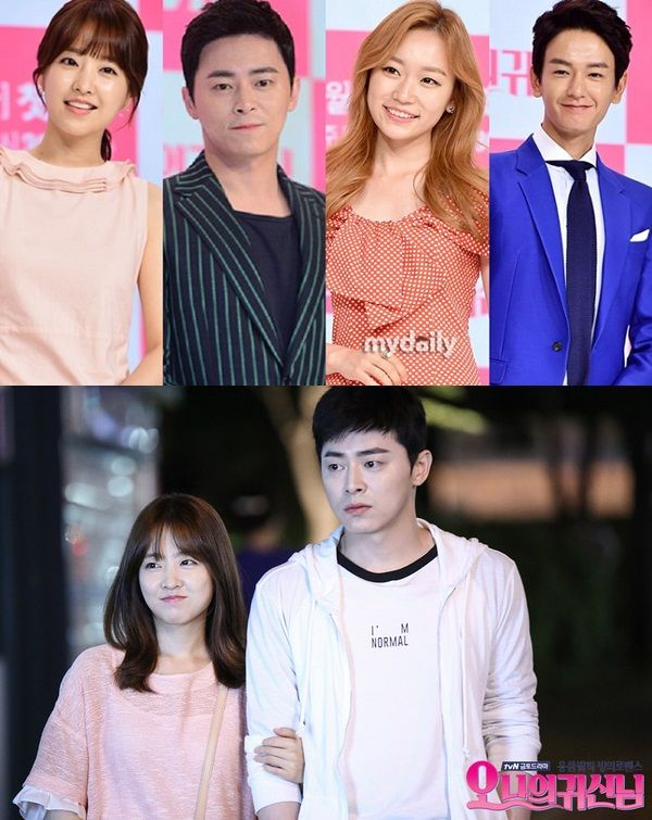 Oh My Ghostess cast | Oh my Ghost - Korean Drama | Tall boy