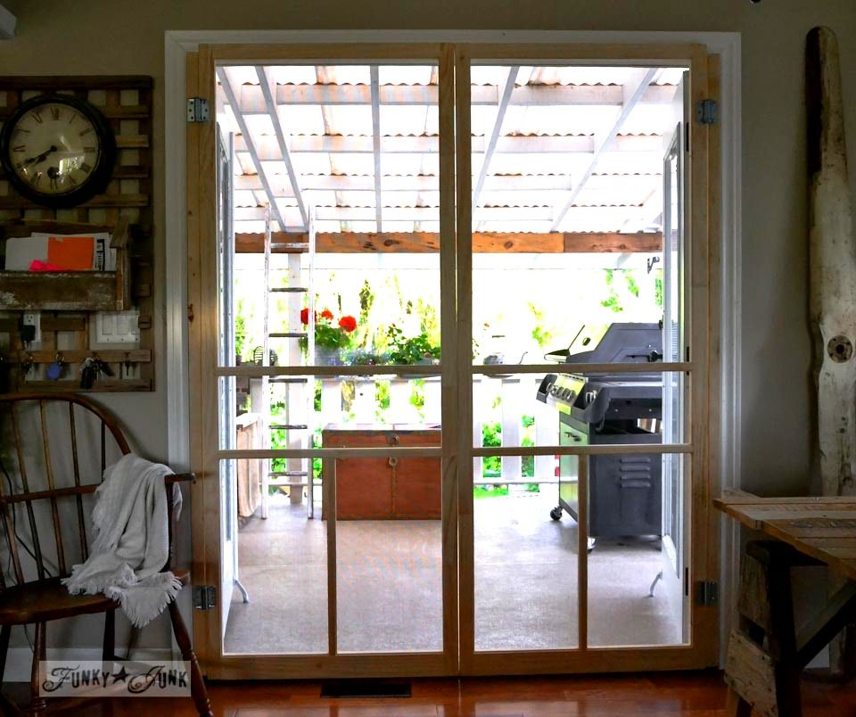 Diy Sliding Screen Door For French Doors