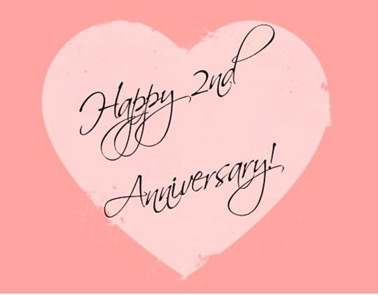 So Many Events To Attend And So Many Things To Look Forward To Hag Do British P 2nd Wedding Anniversary Second Wedding Anniversary Wedding Anniversary Wishes