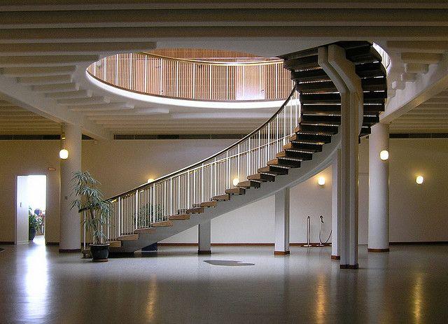 Best Arne Jacobsen Aarhus Town Hall 1937 1942 Staircase 400 x 300