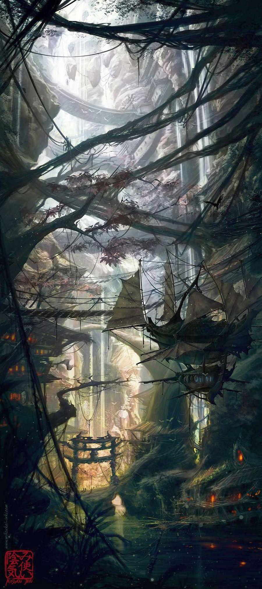 By:  Mitsukai-inki Natália RENAULT..........Click on image to enlarge.....