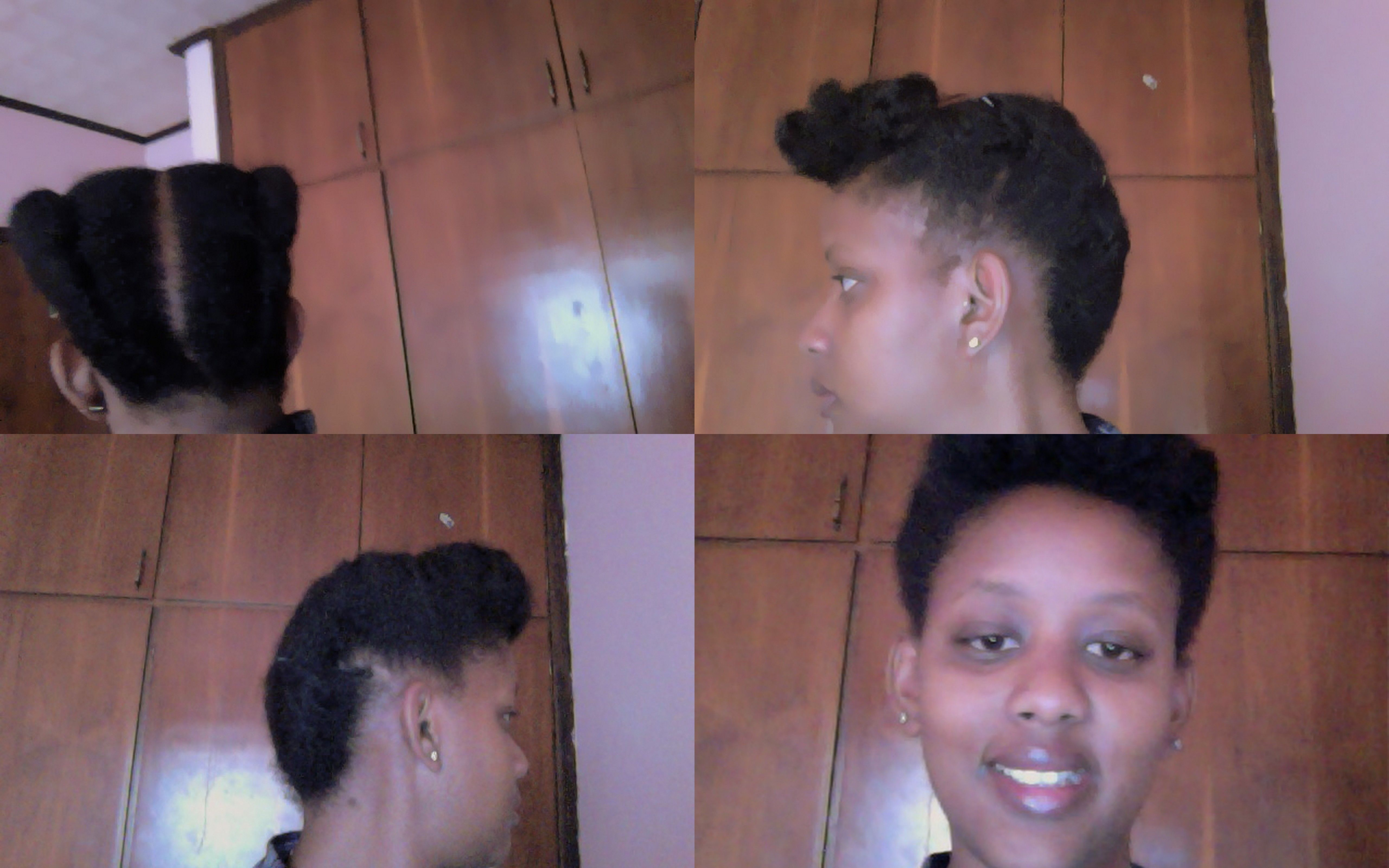 Johny Bravo Inspired Look Fusionofcultures Tutorial For This Look Funky Hairstyles Natural Hair Styles Johny Bravo