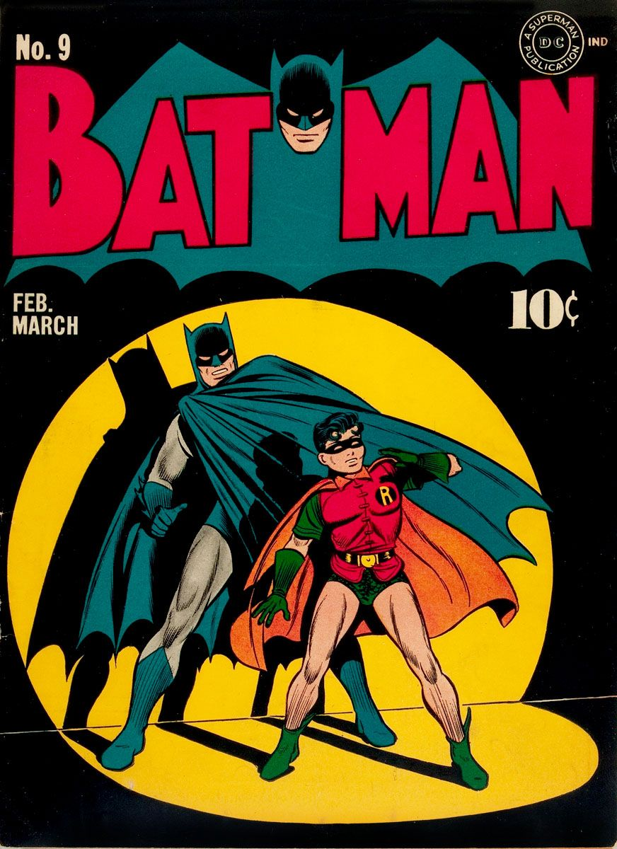 Old batman comic book cover marvel dc pinterest old batman comic book cover voltagebd Images