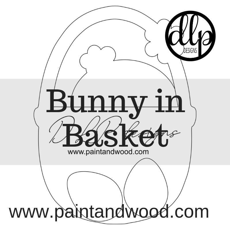 Easter Basket Door Hanger Pattern Available For Instant Download