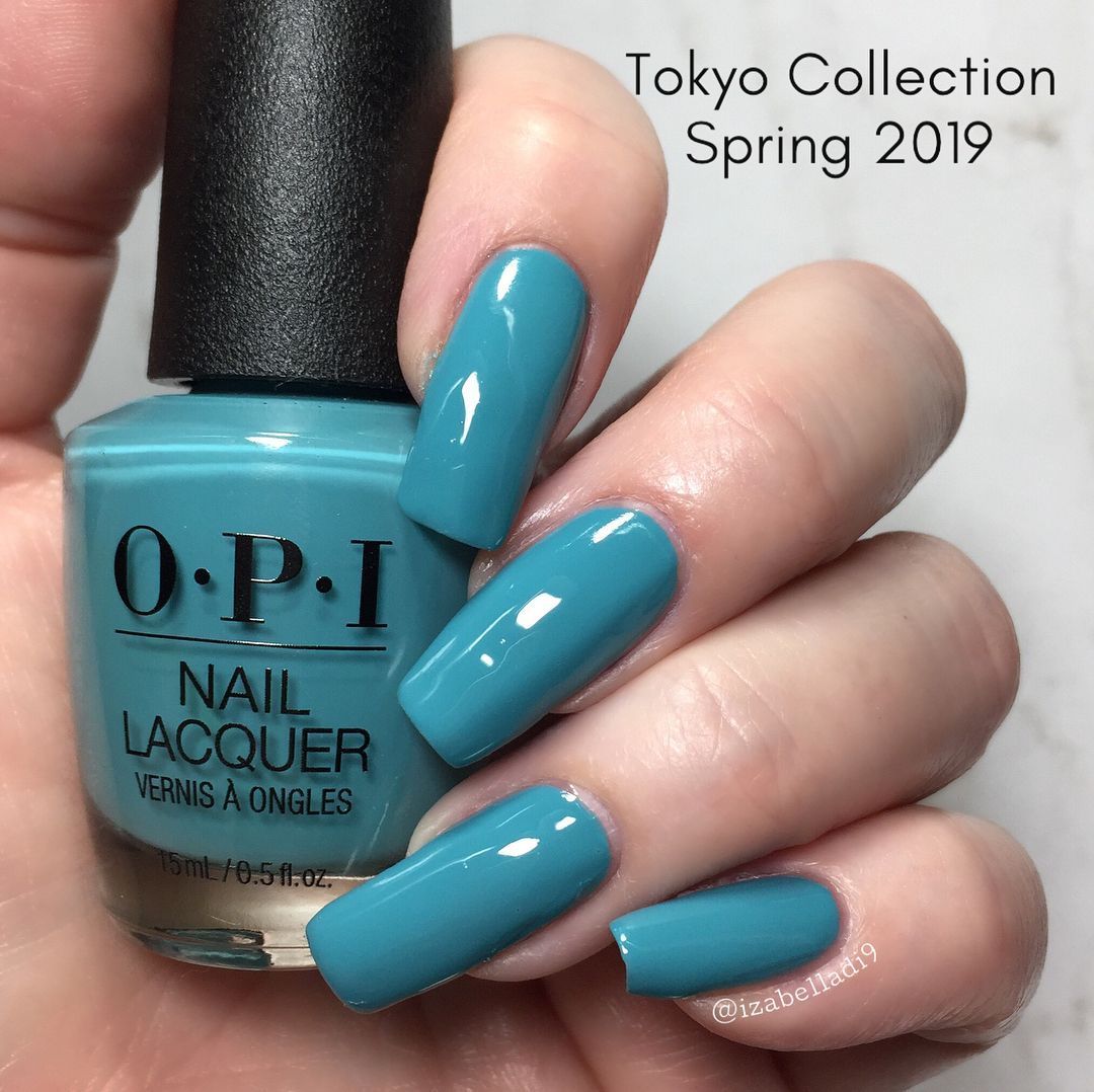 This Is Suzi San Climbs Fuji San From Opi Spring 2019 Tokyo Collection Cream Opaque In 2