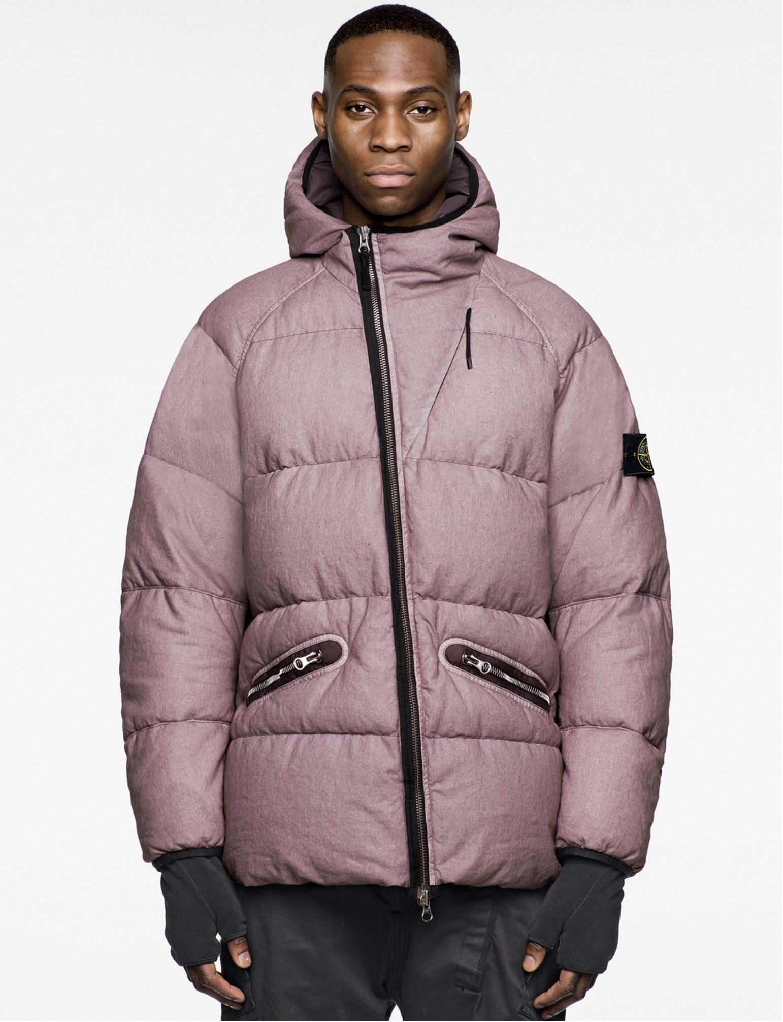 Stone Island Releases Its Aw18 Look Book Stone Island Jacket Stone Island Down Jacket [ 2012 x 1542 Pixel ]