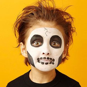 face painting for halloween - Skeleton Face Paint For Halloween