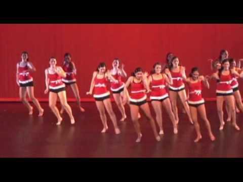 Boston College Dance Ensemble All I Want For Christmas Is You Dance Christmas Dance Dance Workout