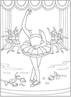 Http Www Doverpublications Com Zb Samples 807584 Sample8c Html Dance Coloring Pages Dance Crafts Kids Dance Classes
