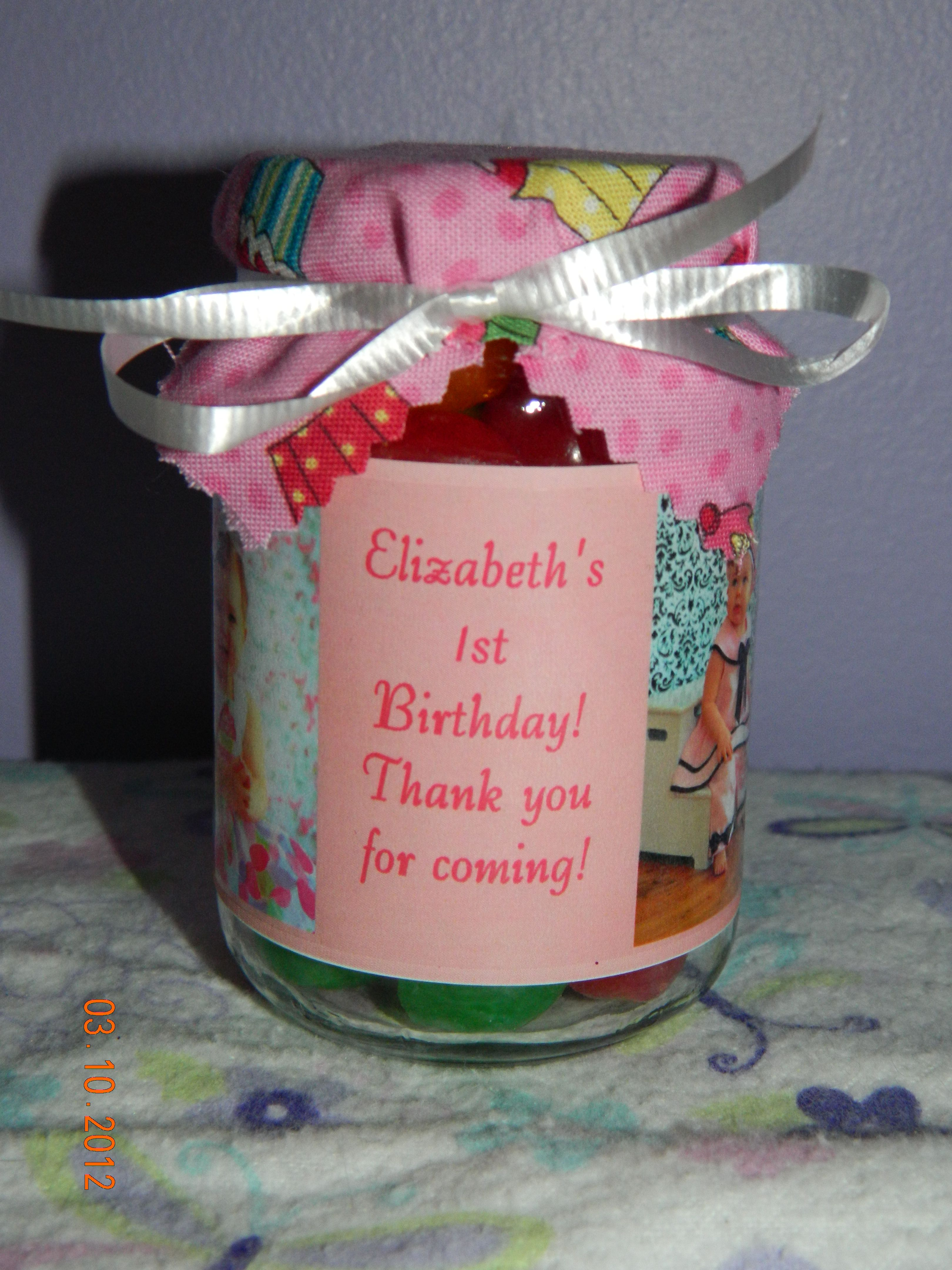 Just made this:) This is what Lizzie\'s party favors will look like ...