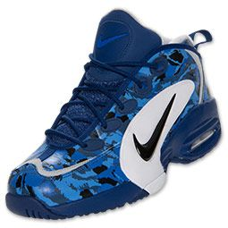 Men's Nike Air Way Up Retro Basketball Shoes | FinishLine.com | Deep Royal  Blue