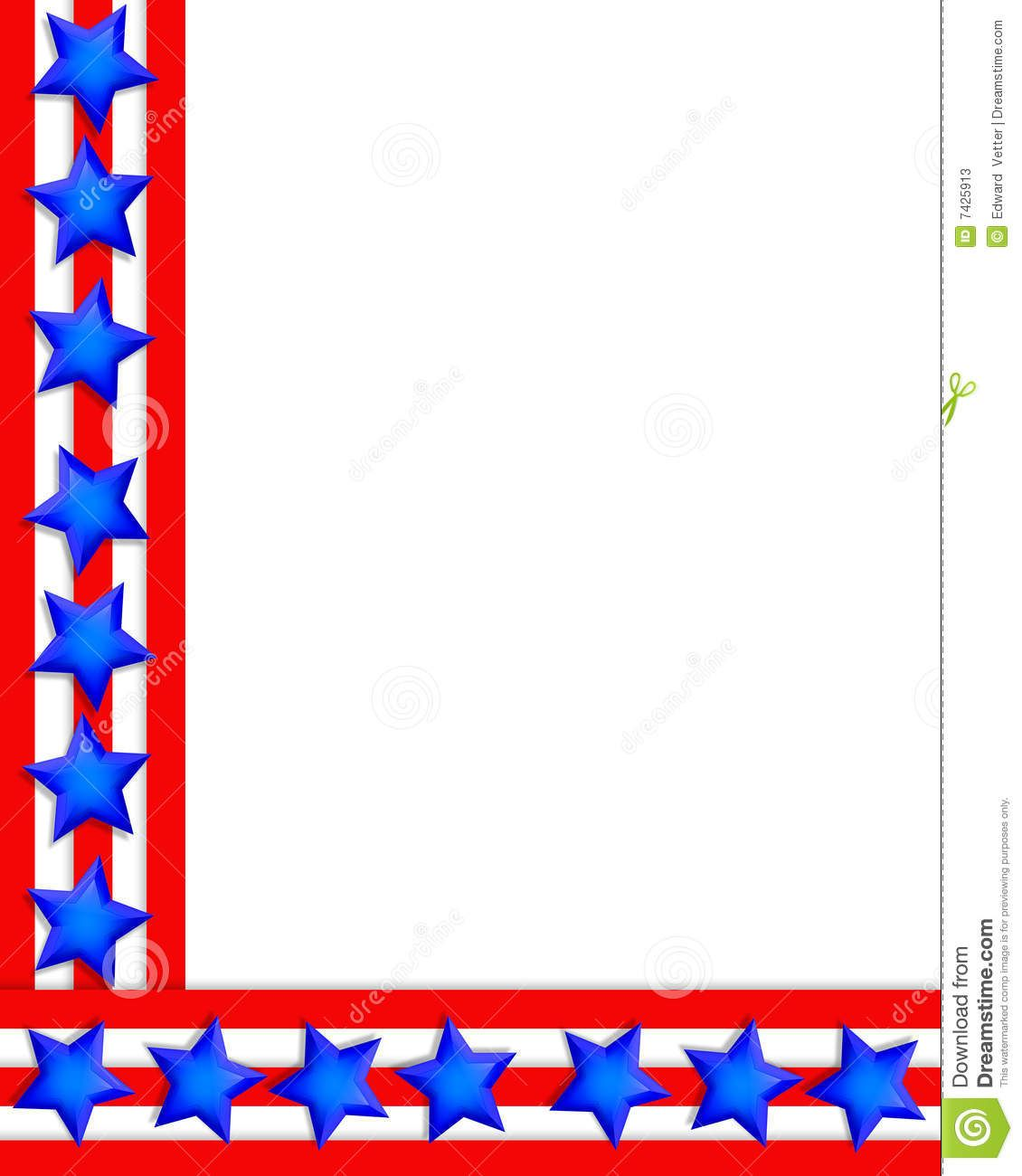 Image result for patriotic borders free printable 4th of