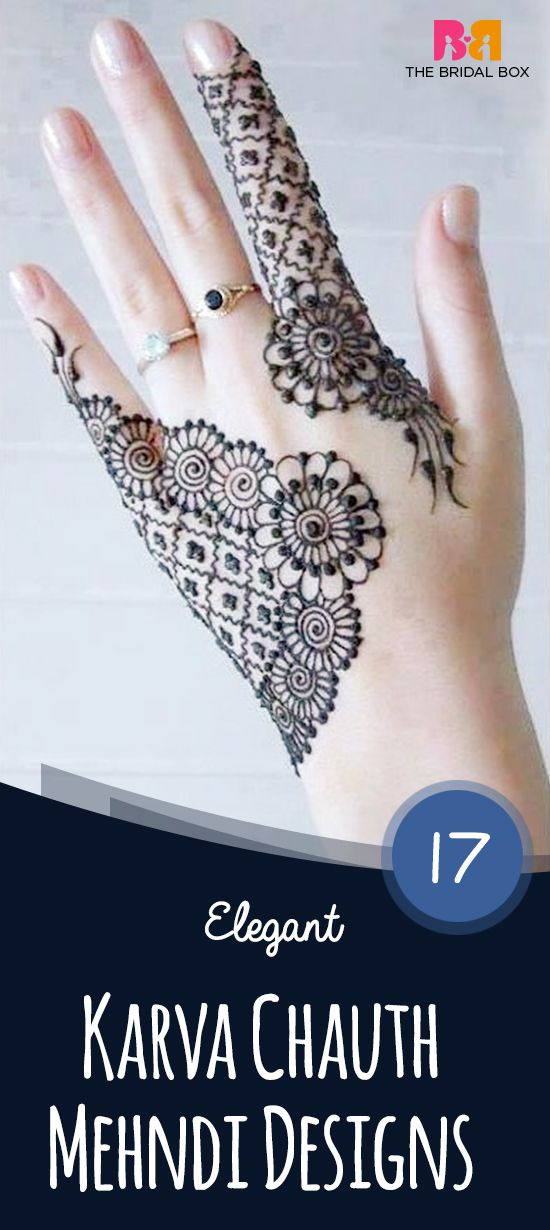 The designs are not usually as intricate as the bridal ones are, but nonetheless, the variety and creativity of these mehndi designs are sure to inspire.