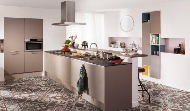 Een goed voorbeeld van een moderne landelijke keuken is de m collectie carnac open massief en - Open keuken m ...