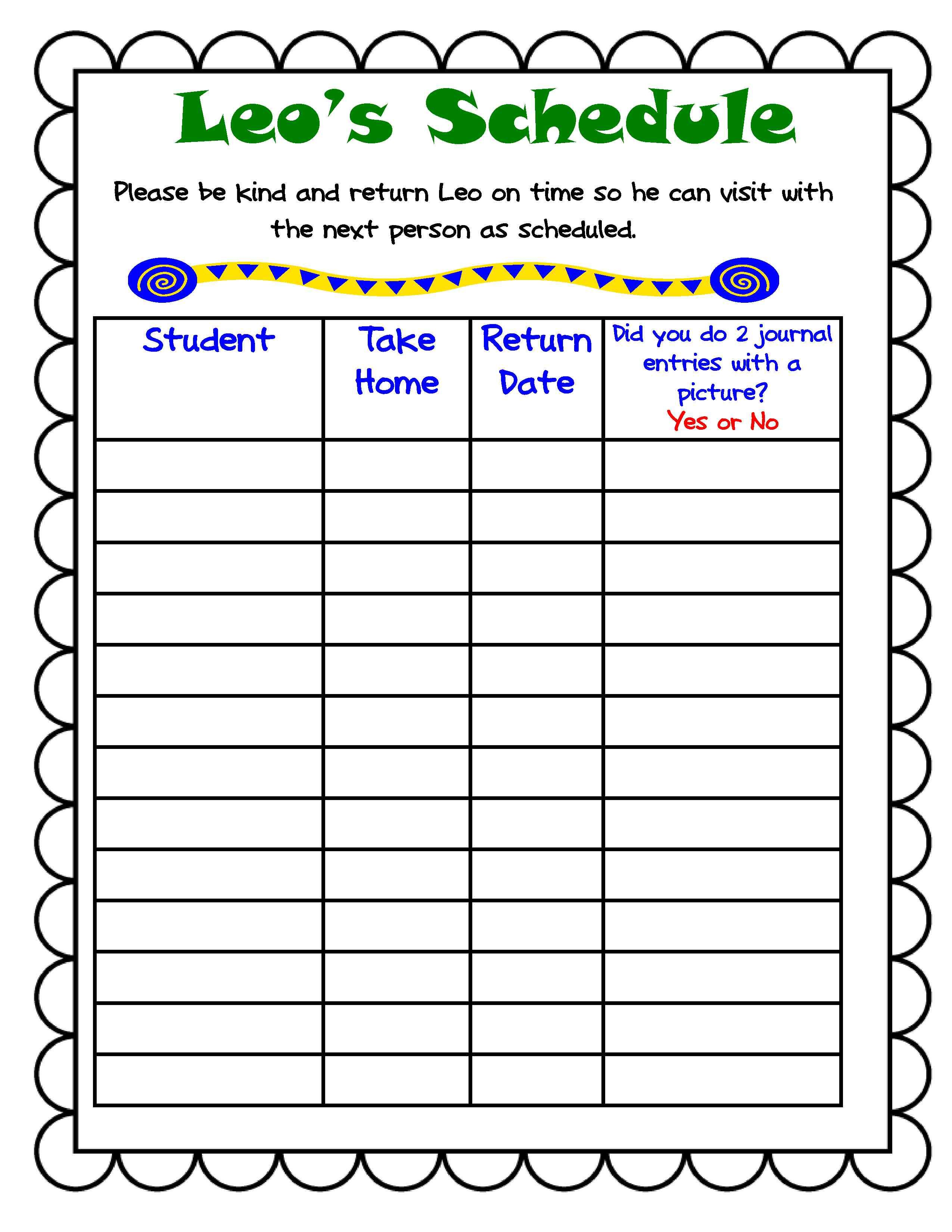 Classroom Journal Ideas ~ Engaging young writers at home the class mascot writing