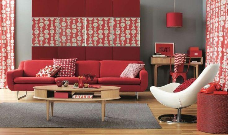 nice Déco Salon - salon design et intérieur avec couleur chaude ...