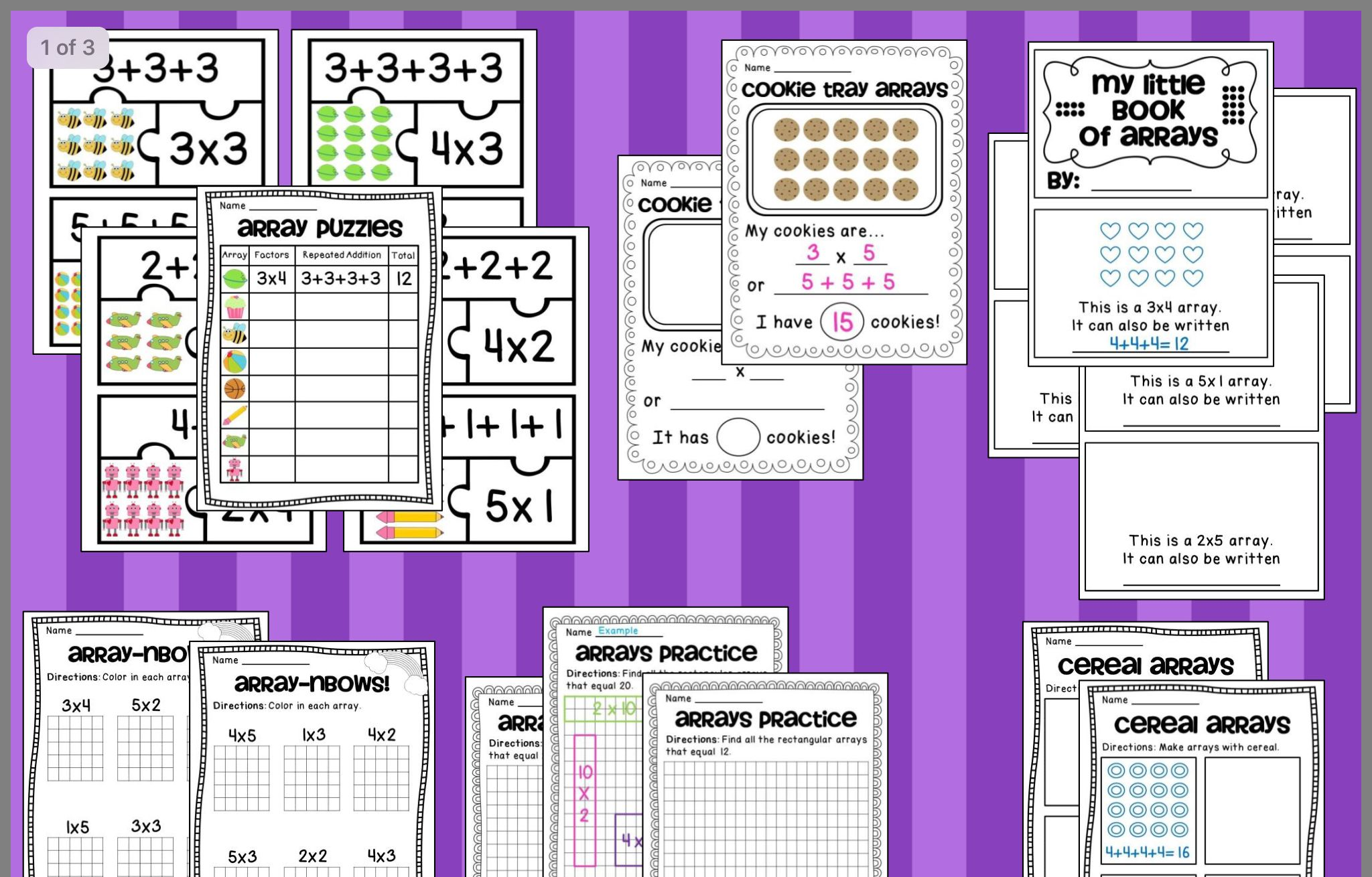 Pin By Ann On 3rd Grade Math With Images