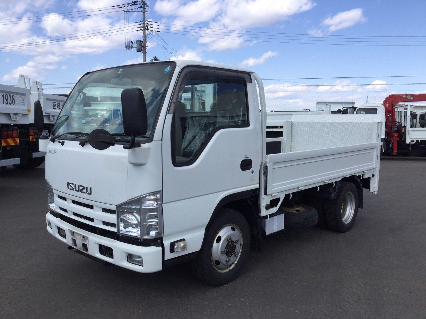 2014 Isuzu Elf 2 Ton 4wd Truck Tkg Njs85a Used Trucks For Sale Trucks Japan