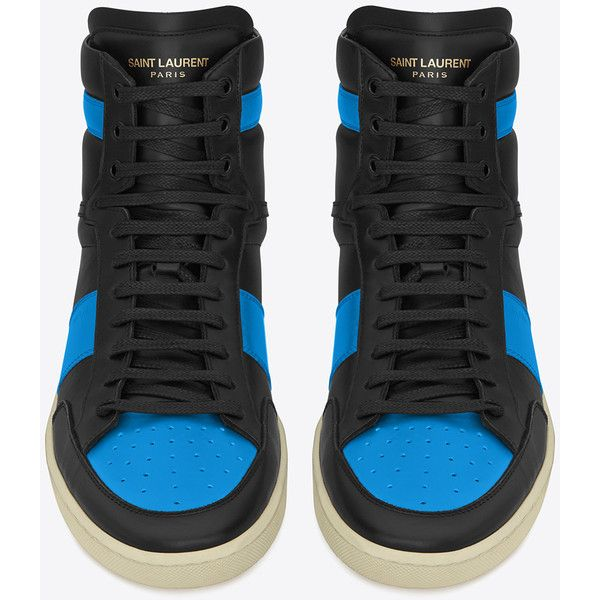 bded98daaaa Saint Laurent Signature Court Classic Sl/10H High Top ($600) ❤ liked on