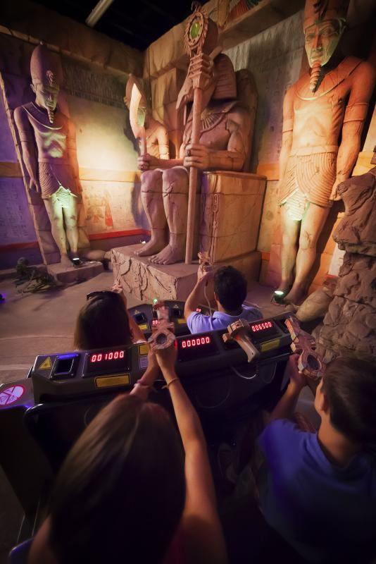 Walibi Belgium Halloween 2019.Challenge Of Tutankhamon Amusement Park Walibi Belgium