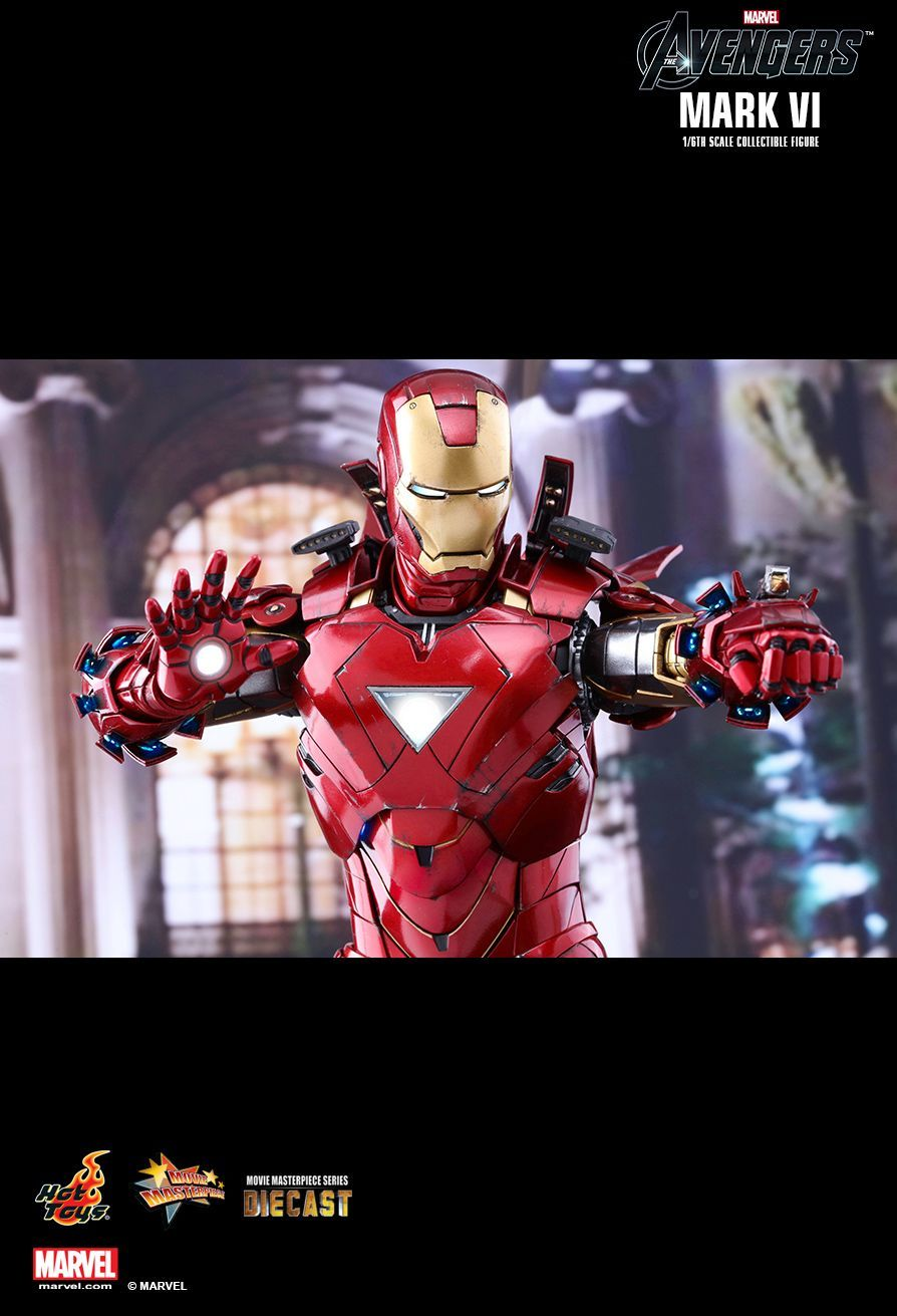 Hot toys the avengers mark vi 16th scale diecast