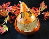 Halloween Gourd  Candy Dish Trick ot Treat Decoration