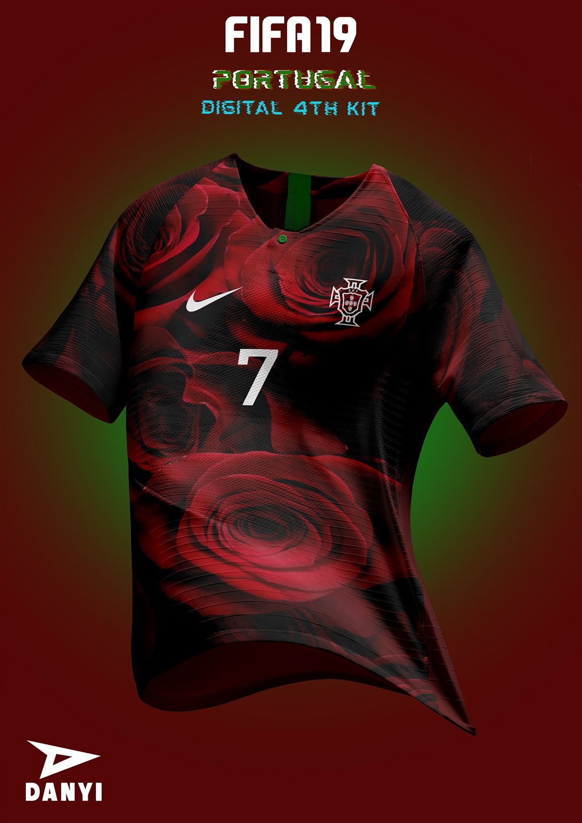 FIFA 19 X NIKE football kits. on Behance   Camisa de futebol