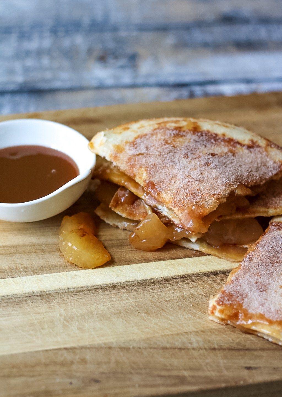 Caramel Apple Pie Quesadillas 5 Recipes In 2018 Pinterest