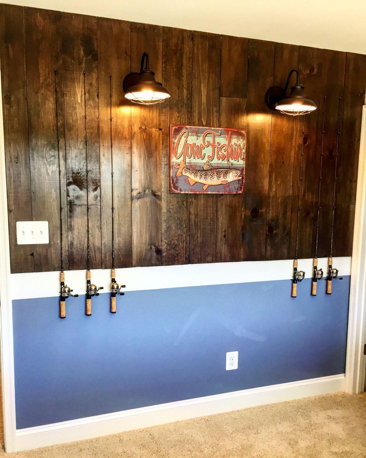 Fish Decor For Home: Fishing Bedroom, Fishing Theme Rooms, Fishing