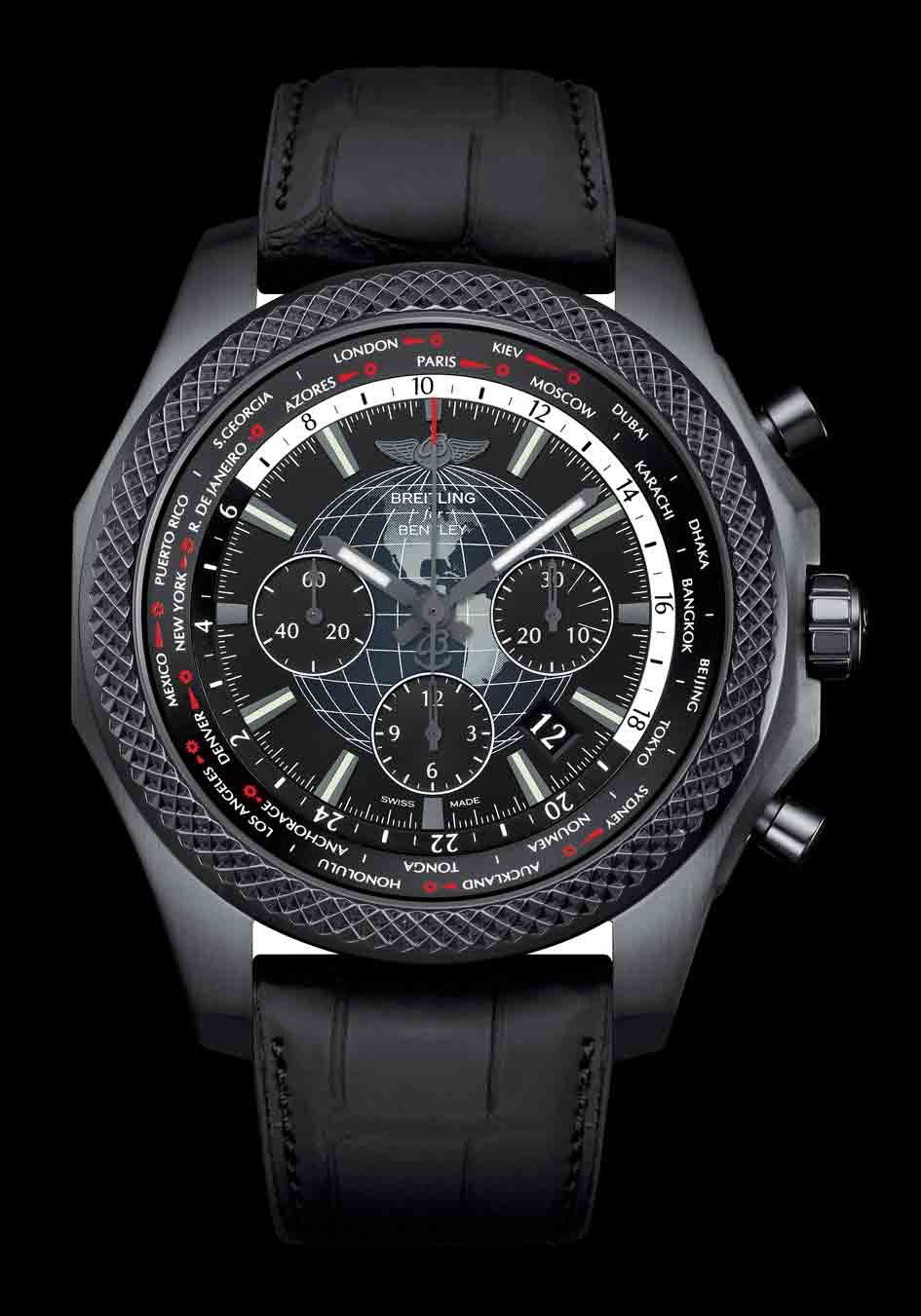 Bentley B05 Unitime Midnight Carbon - Breitling for Bentley ... 924dd1cb1b7