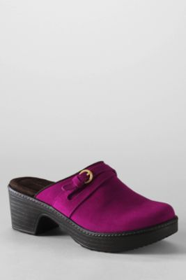 Women's Carly Clog Mule from Lands' End. Love this color.