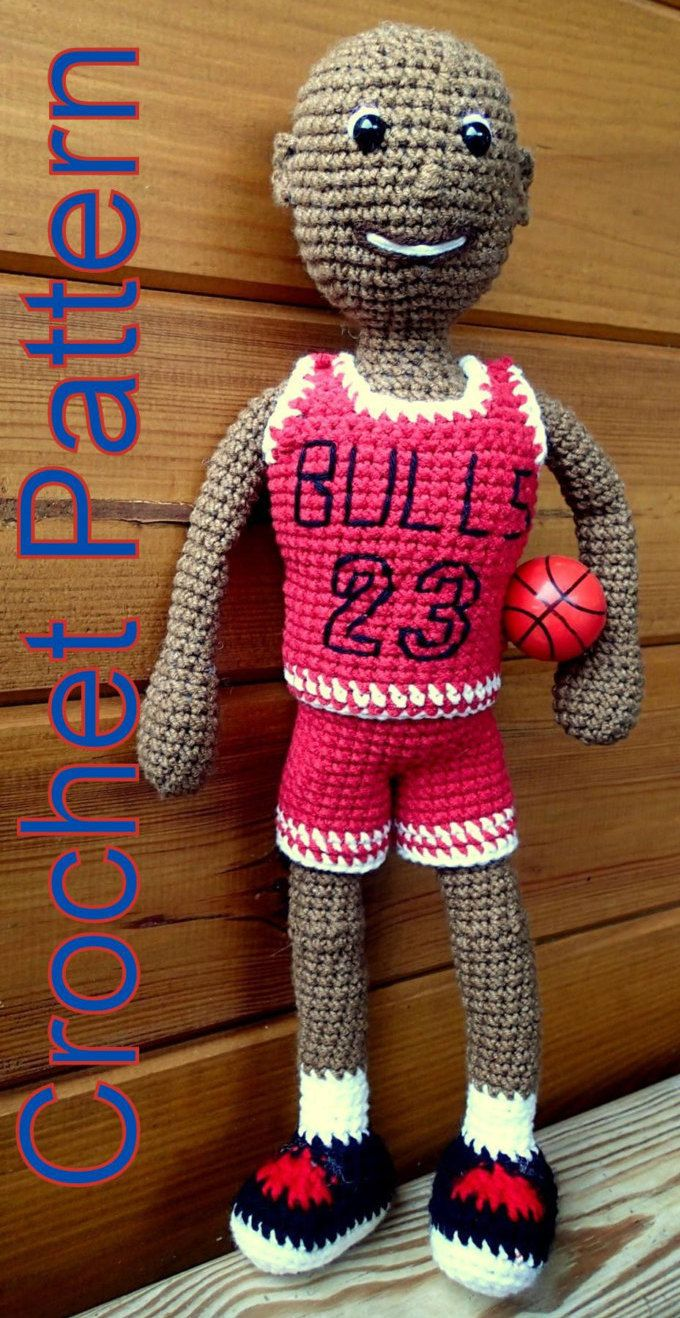 Basketball player crochet pattern based on michael jordan basketball player crochet pattern based on michael jordan bankloansurffo Choice Image